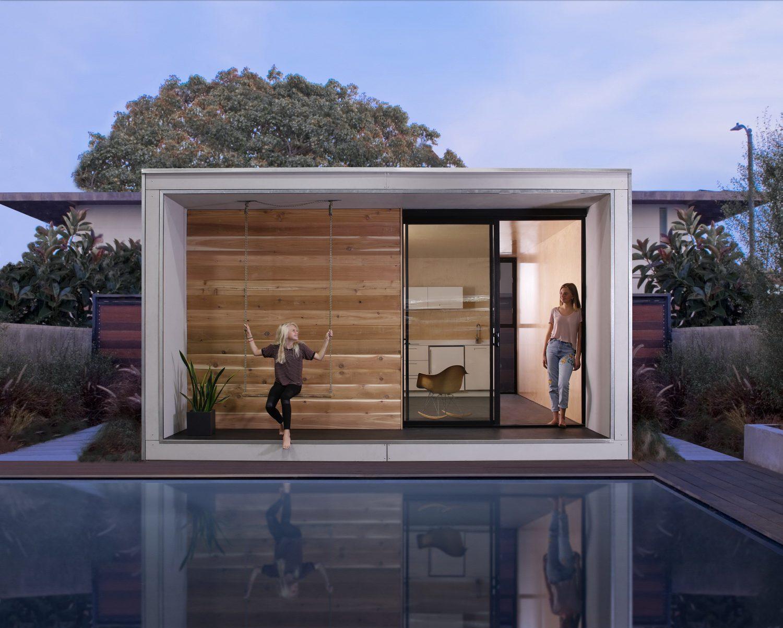 Plús Hús – Tiny Prefab Cabin by Minarc
