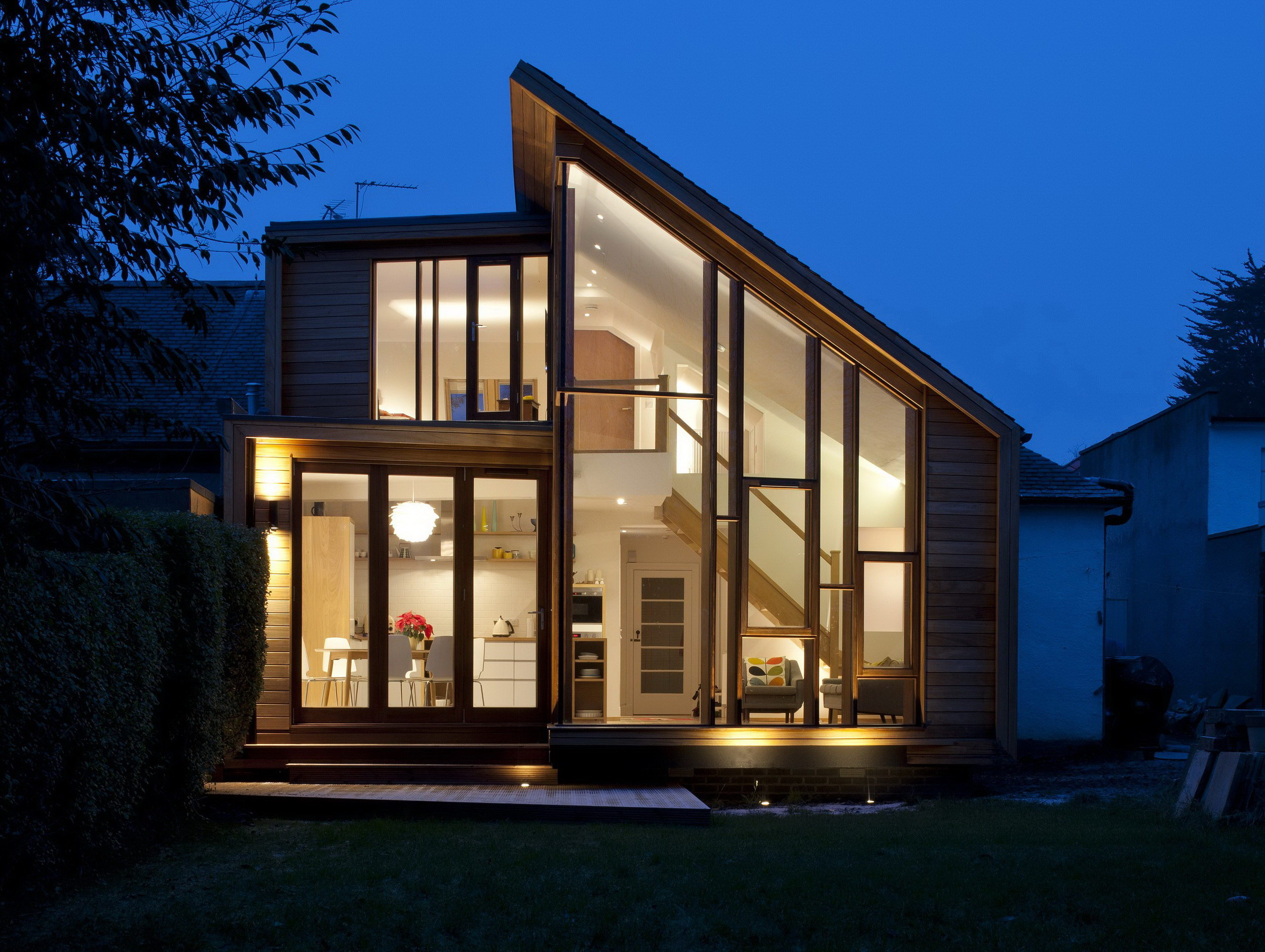 Solen Vinklar – Family House Extension by David Blaikie Architects