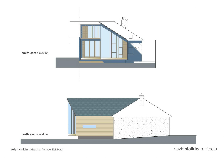 Solen Vinklar – Family House Extension by David Blaikie Architects