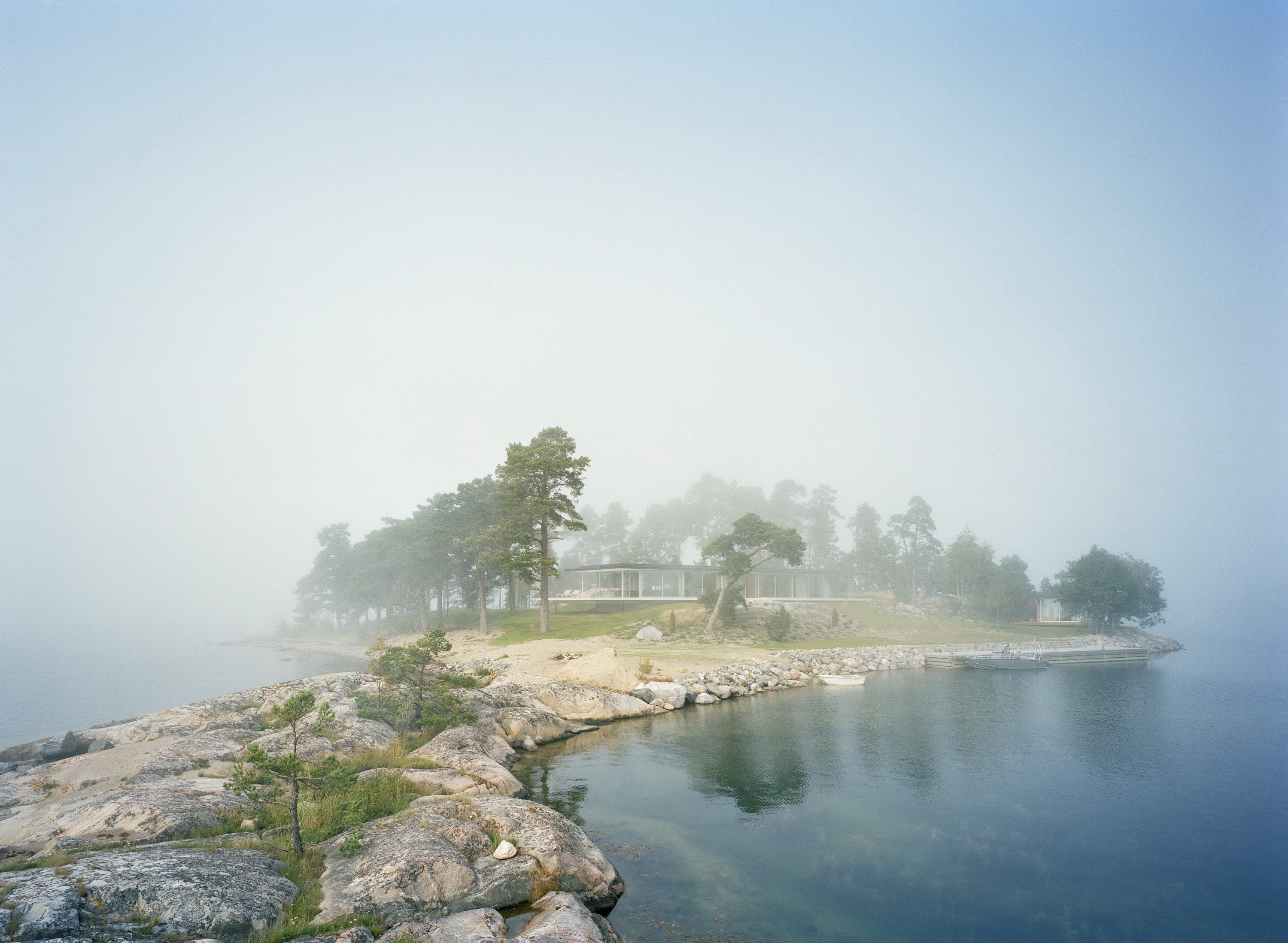 Summer Home on a Private Island – Villa Kymmendö by Jordens Arkitekter