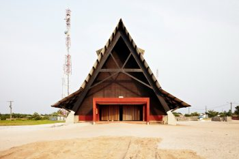 Assinie-Mafia Church – A-Frame Church by Koffi & Diabaté Architectes