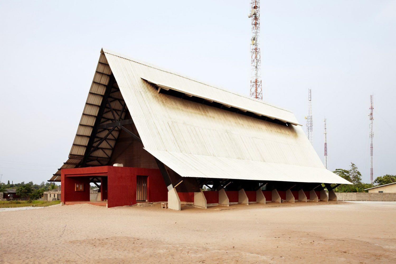 Assinie-Mafia Church – A-Frame Church by Koffi & Diabaté Architectes