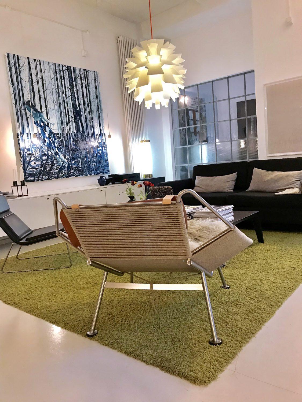 René Holm's Studio Loft in Berlin