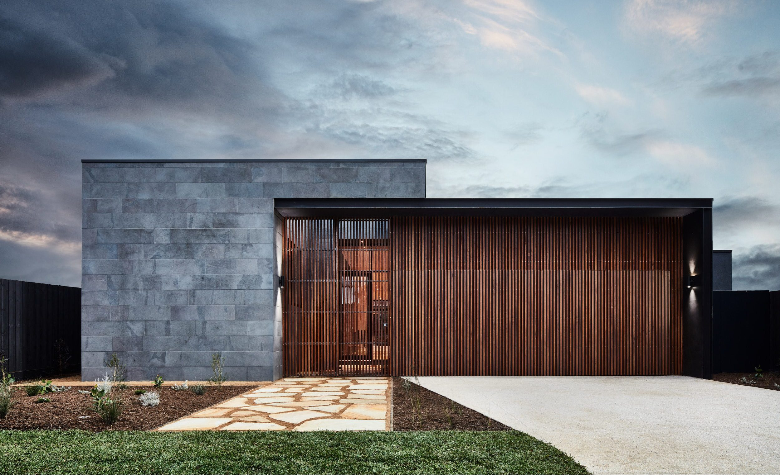 The Courtyard House by Auhaus Architecture