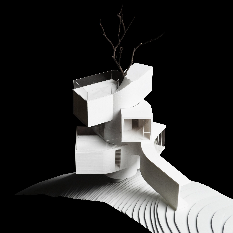 The Qiyun Mountain Tree House by Bengo Studio