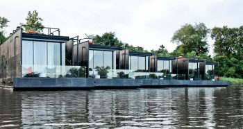X-Float – Tiny Floating Homes by Agaligo Studio