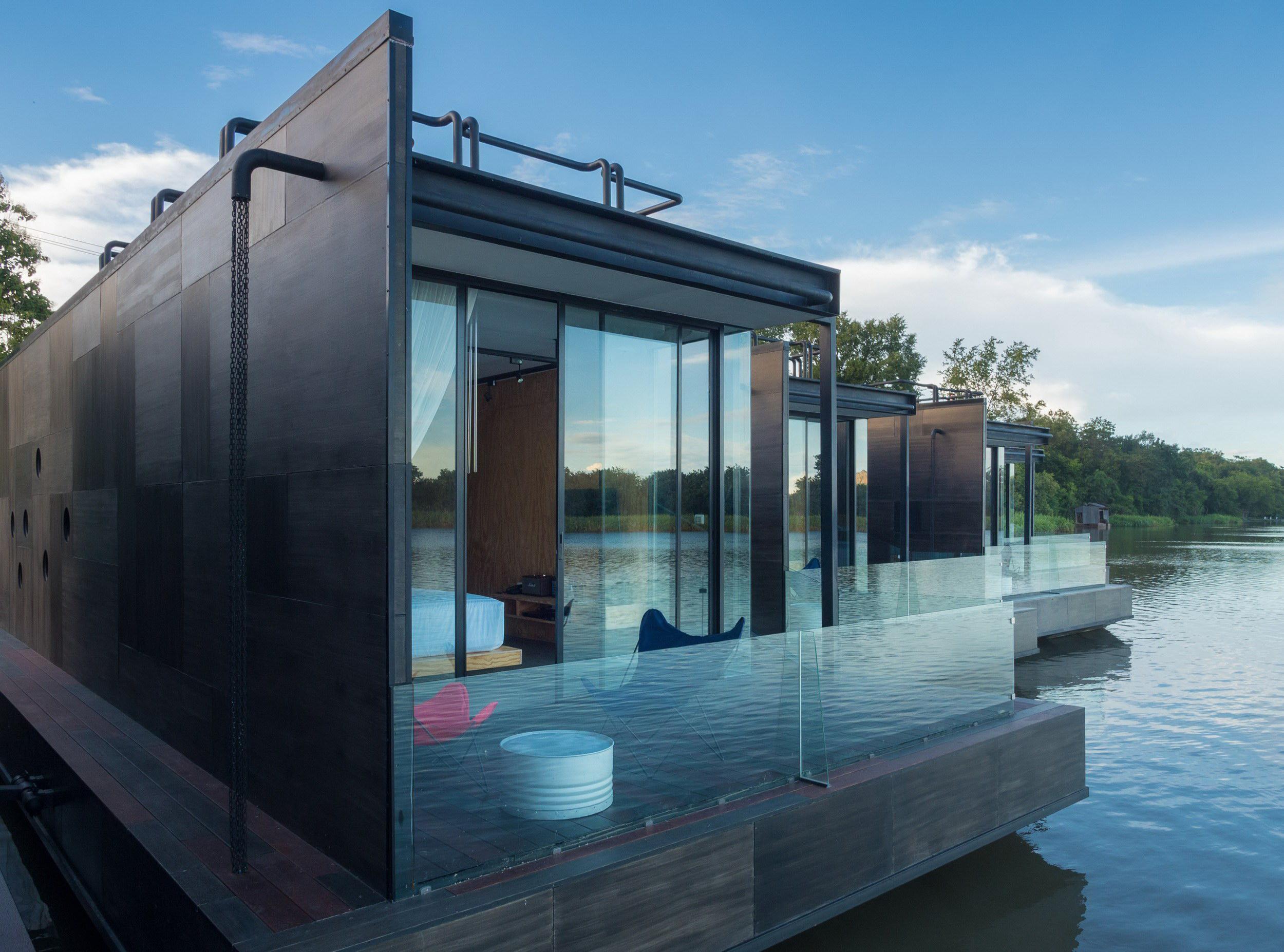 X-Float – Tiny Floating Homes by Agaligo Studio