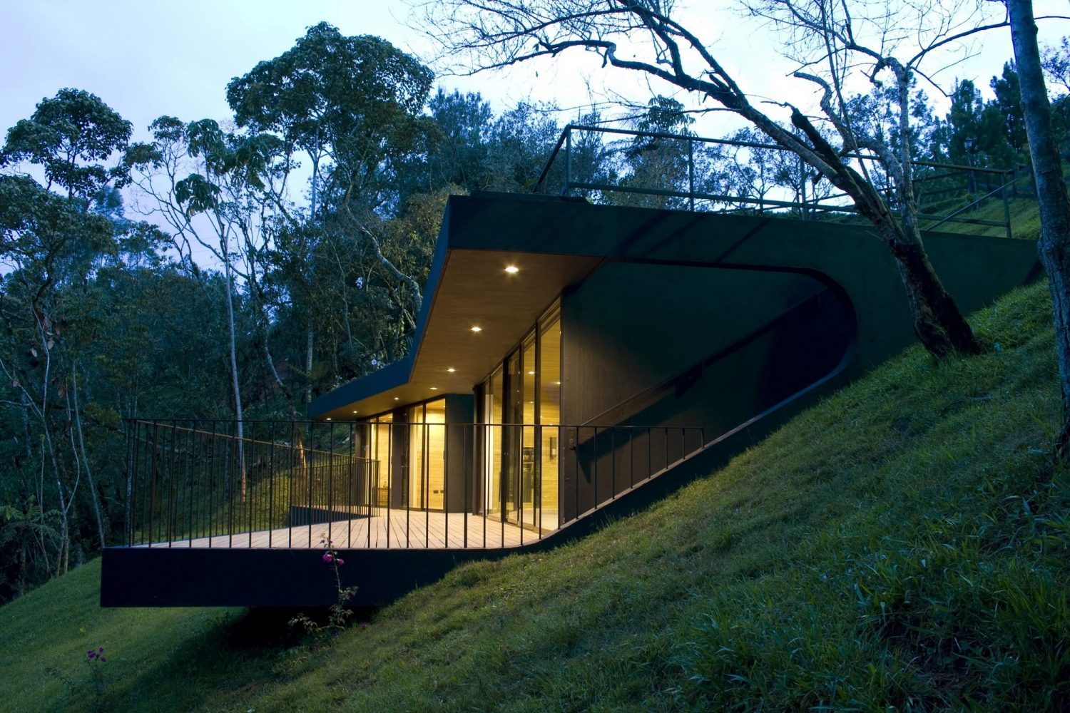 Ecological Shelters at Finca El Retorno by G Ateliers