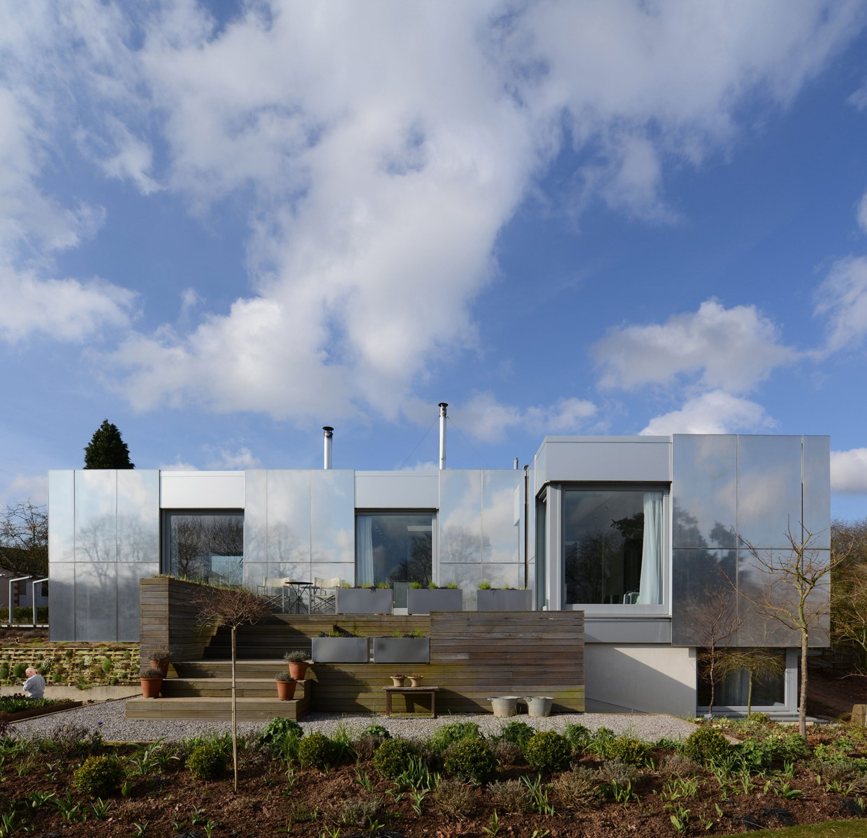 Green Orchard | Zero Carbon House by Paul Archer Design