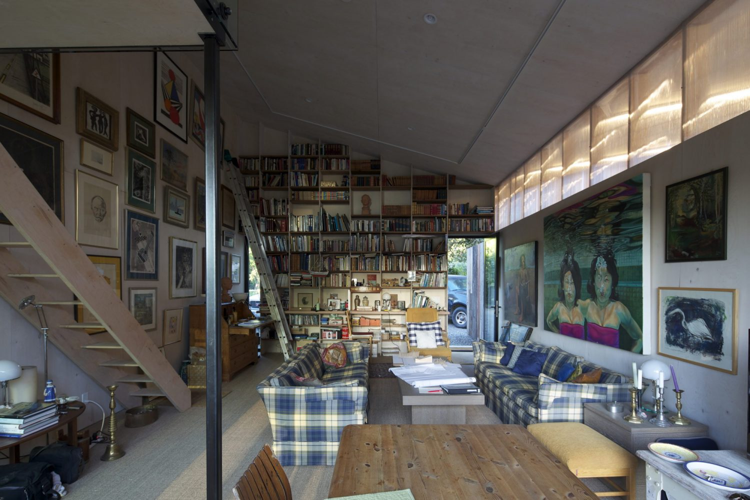 Meier Road Artist Studio in California
