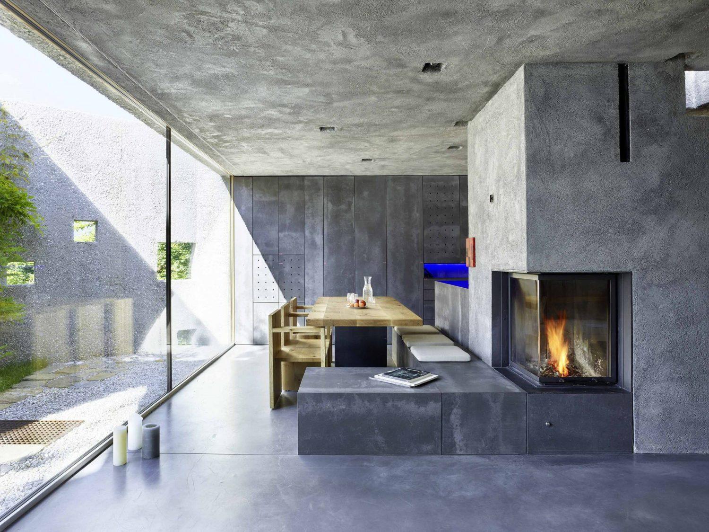 New Concrete House by Wespi de Meuron Romeo architetti