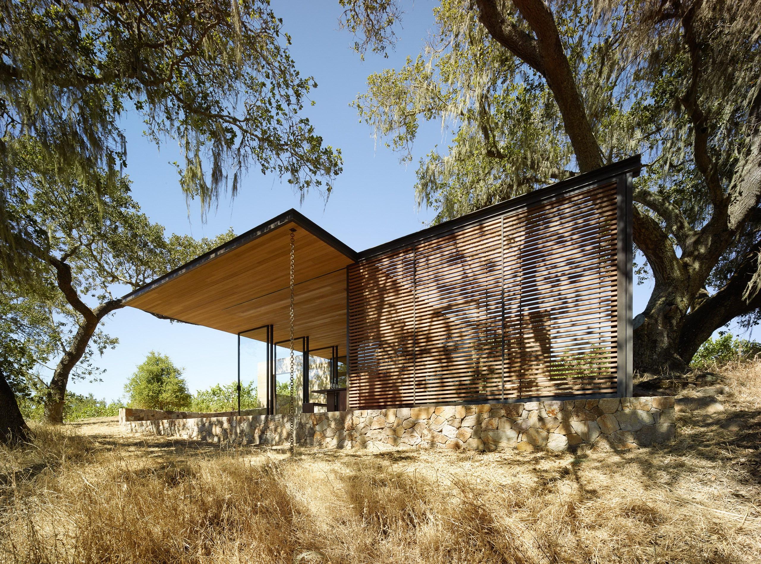 Quintessa Pavilions | Wine-Tasting Pavilions by Walker Warner Architects