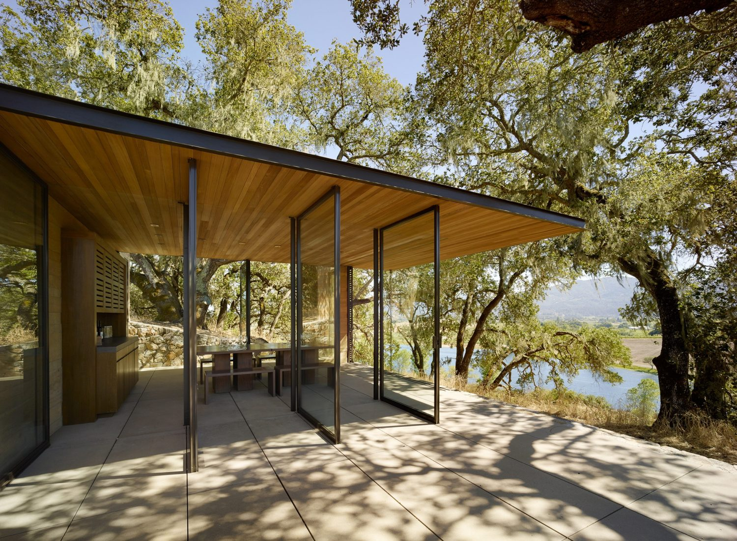Quintessa Pavilions | Wine-Tasting Pavilions by Walker Warner Architects