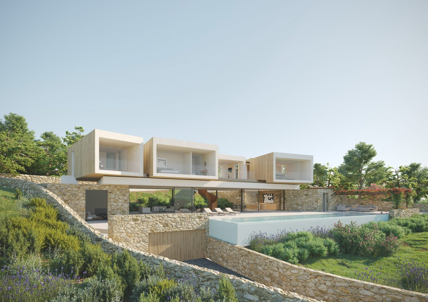 Residential Villa in Ibiza by Render Art