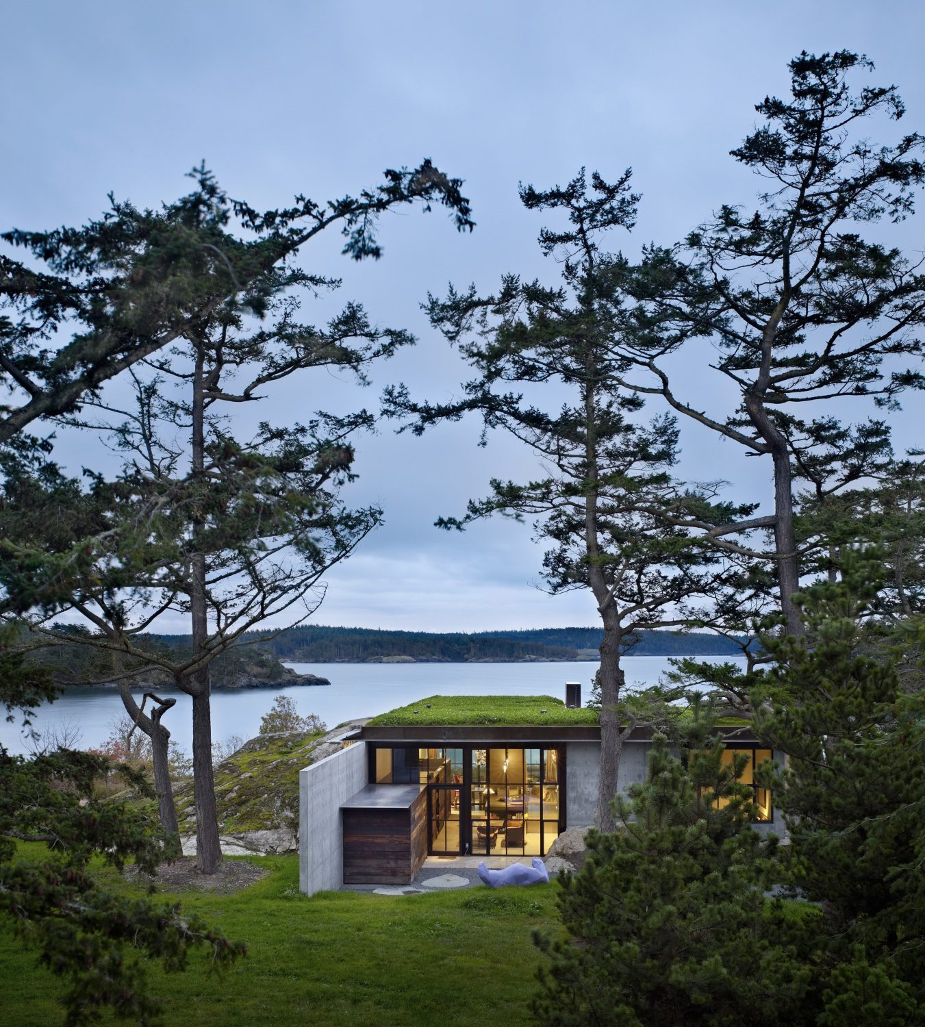 The Pierre | Fortress-Like House by Olson Kundig