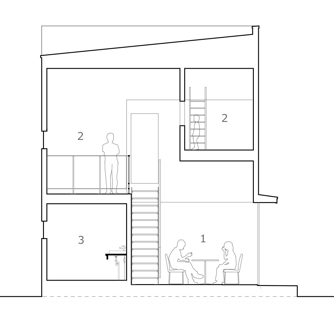 Azuchi House by ALTS Design Office