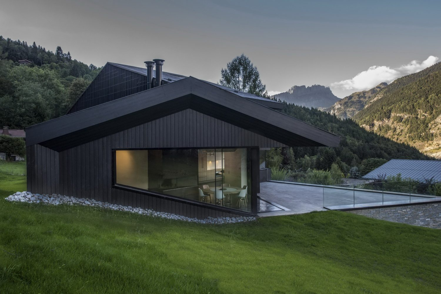 Cabin in Chamonix by Pierre Marchand Architects