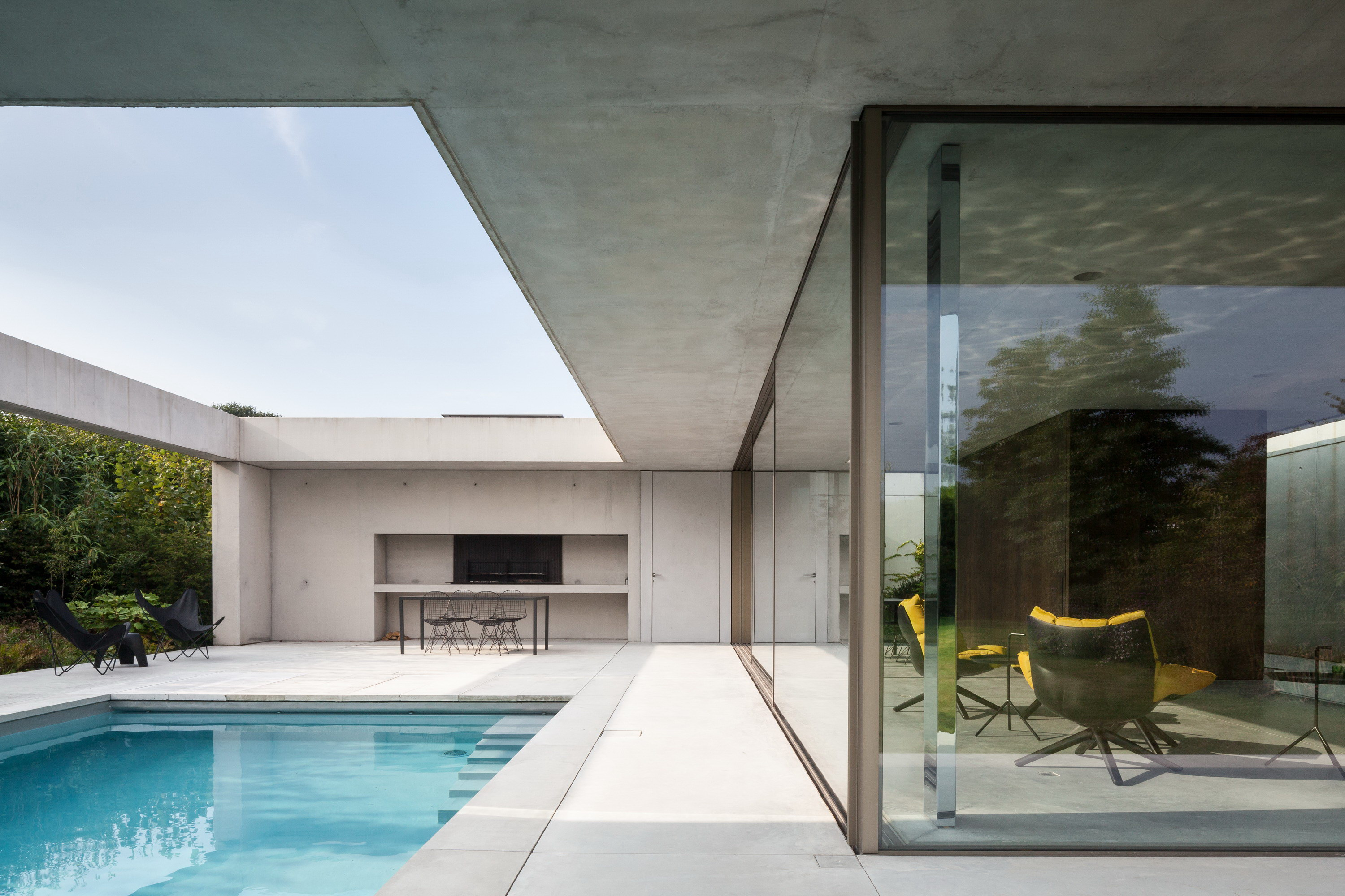 Poolhouse O By Steven Vandenborre Architects Wowow Home