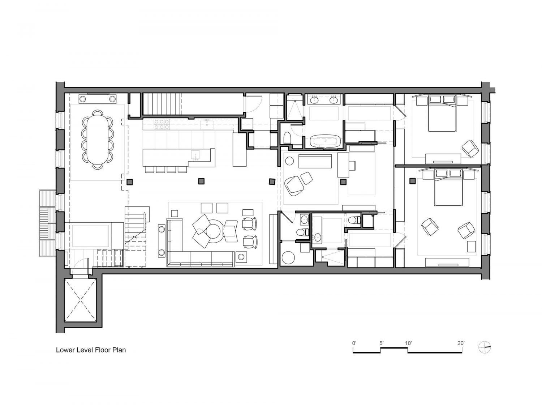 Tribeca Loft by Andrew Franz Architect