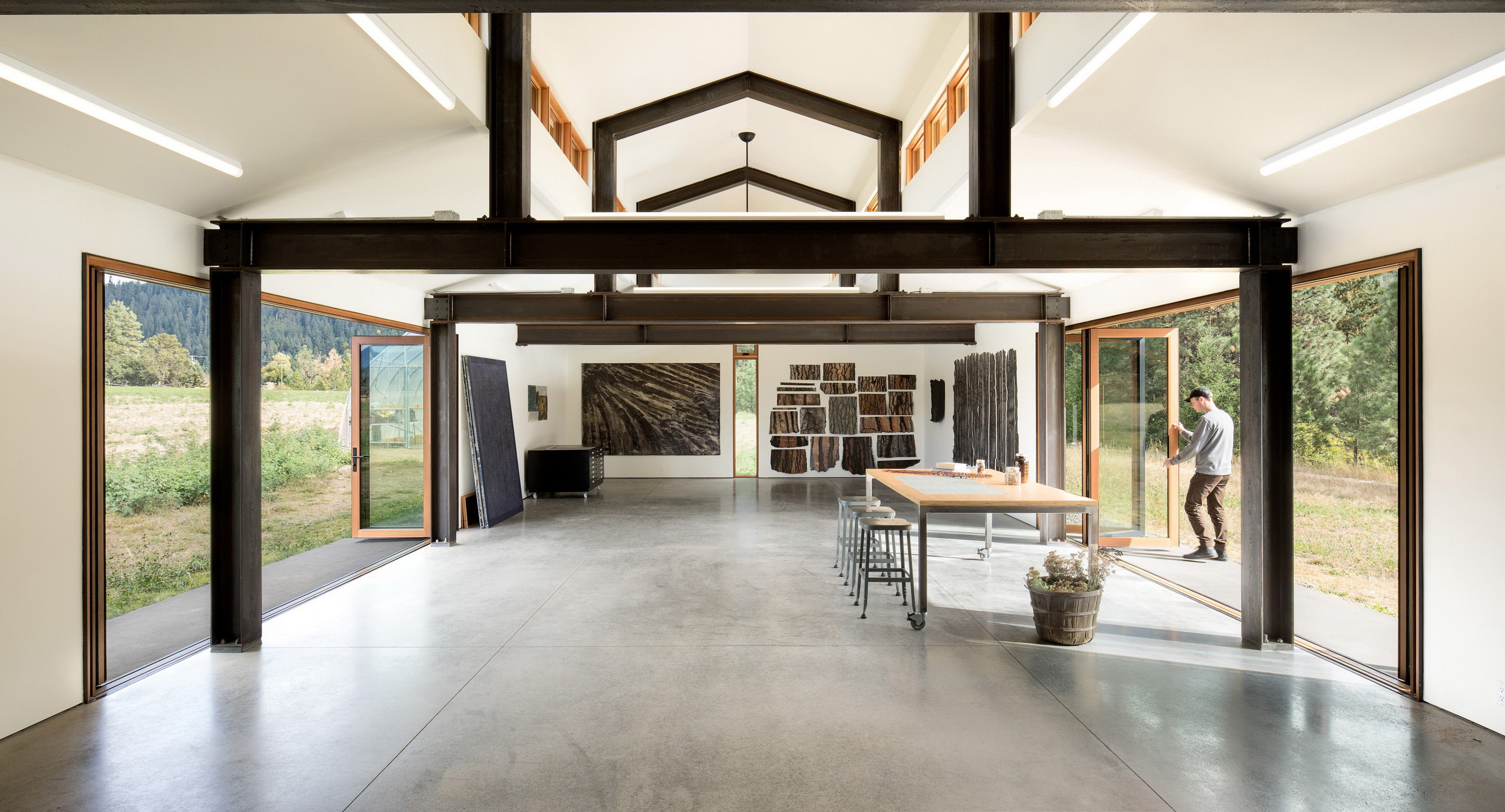 Trout Lake House By Olson Kundig Wowow Home Magazine