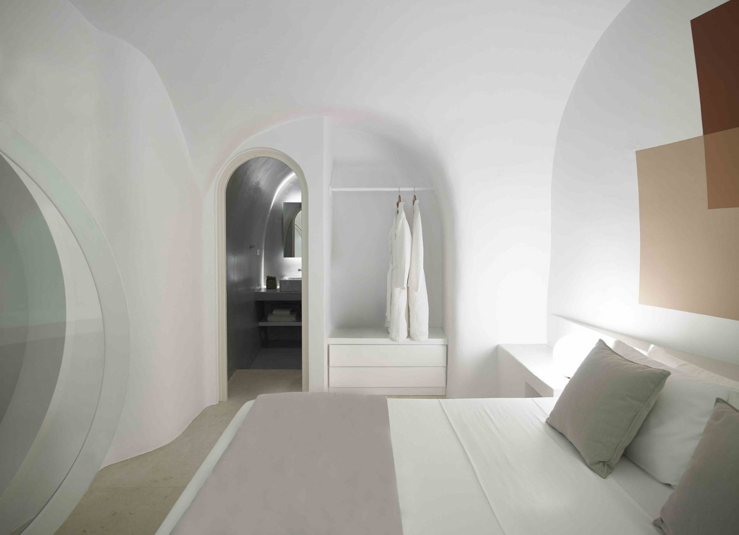 Summer Cave House in Santorini by Kapsimalis Architects