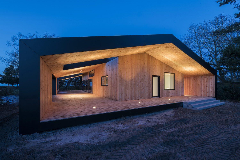 Treldehuset Summer House by CEBRA