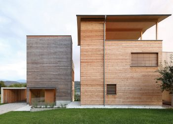Two Wooden Towers by Hohengasser Wirnsberger Architekten