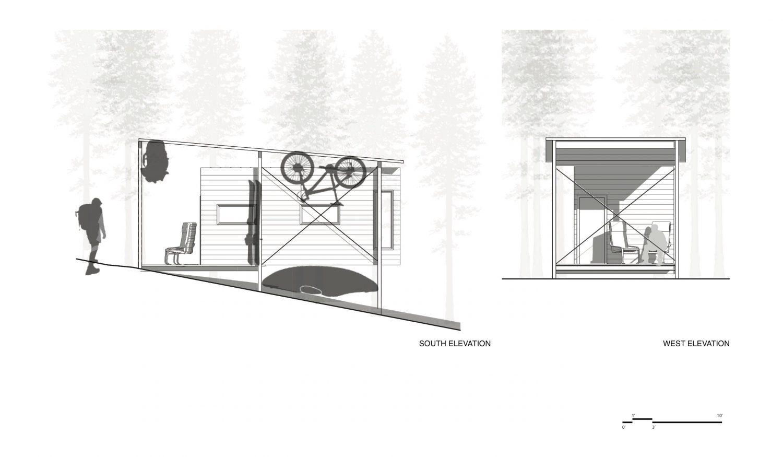 COBS Year-Round Micro Cabins by Colorado Building Workshop