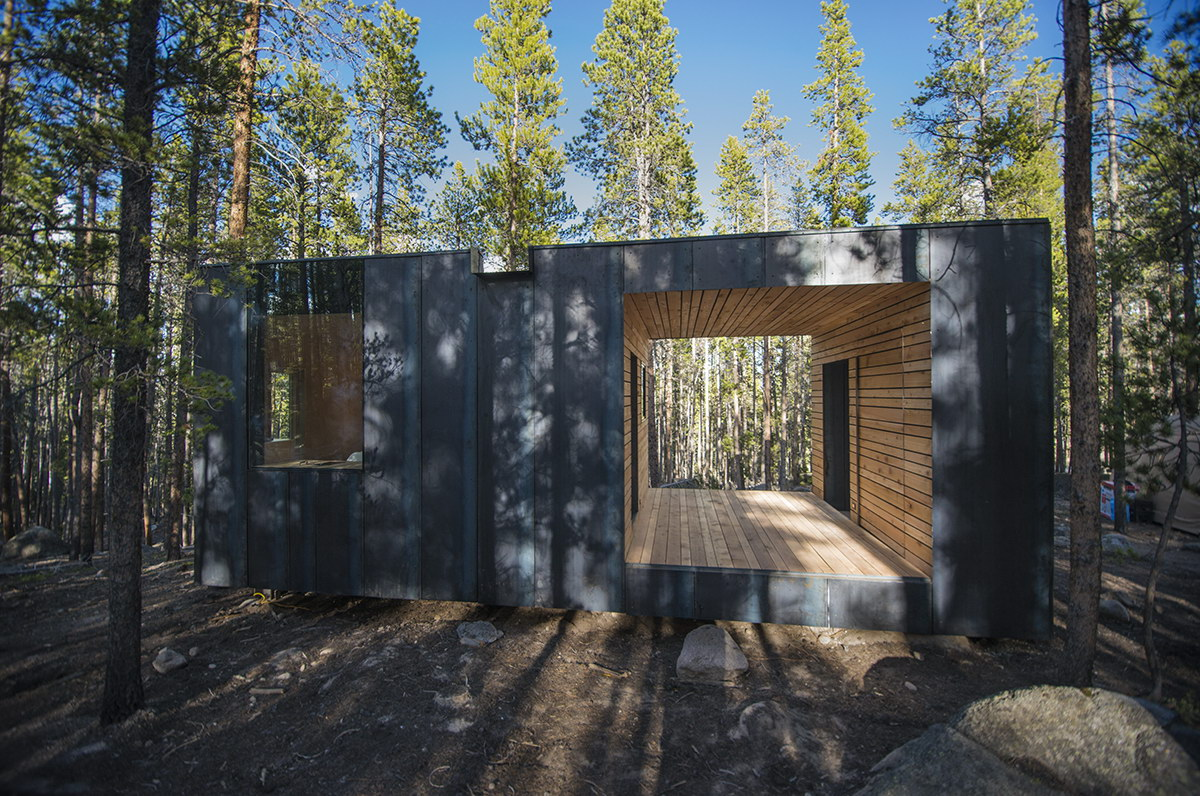 COBS Year-Round Micro Cabins by Colorado Building Workshop