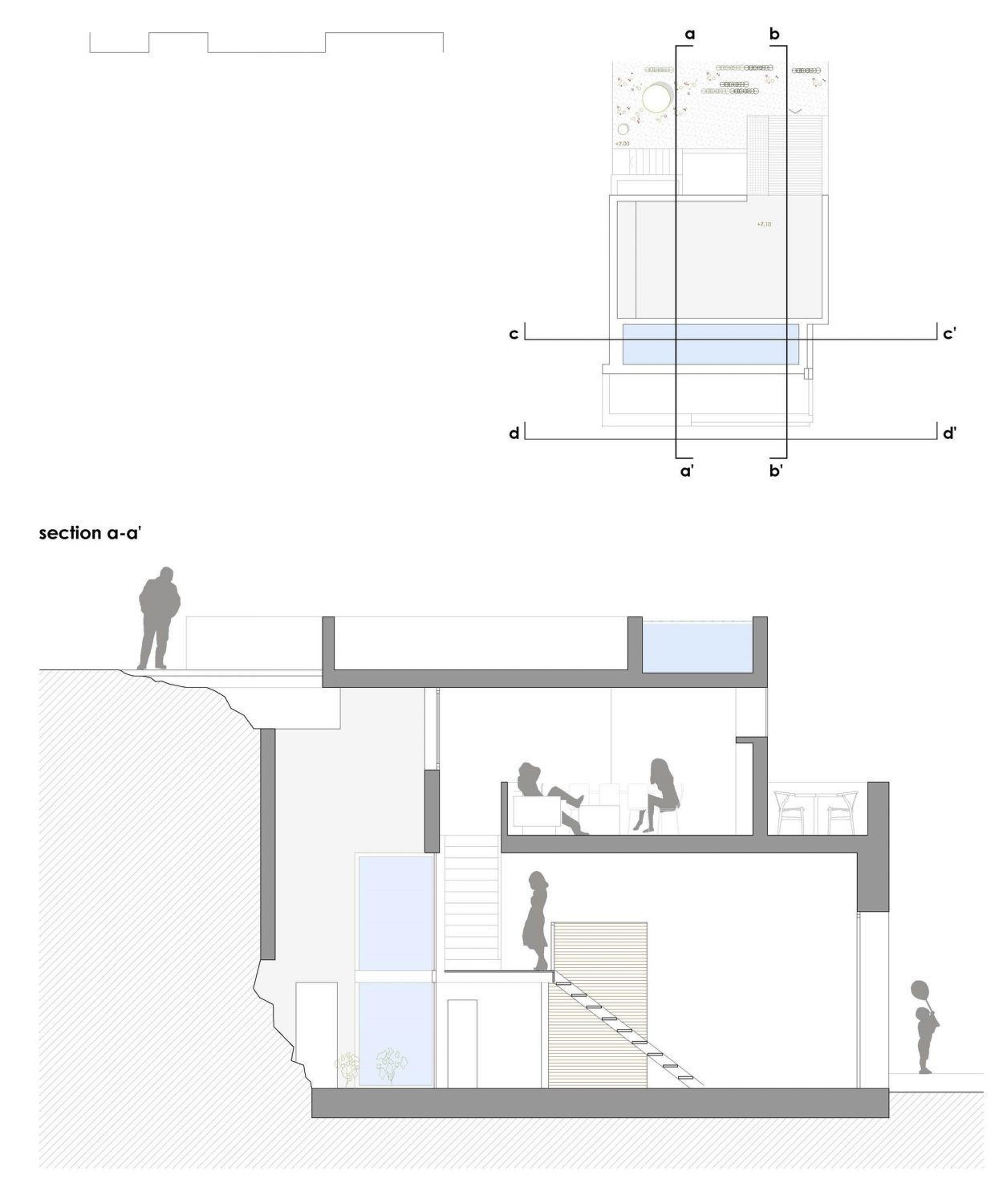 House for a Painter by DTR_studio architects