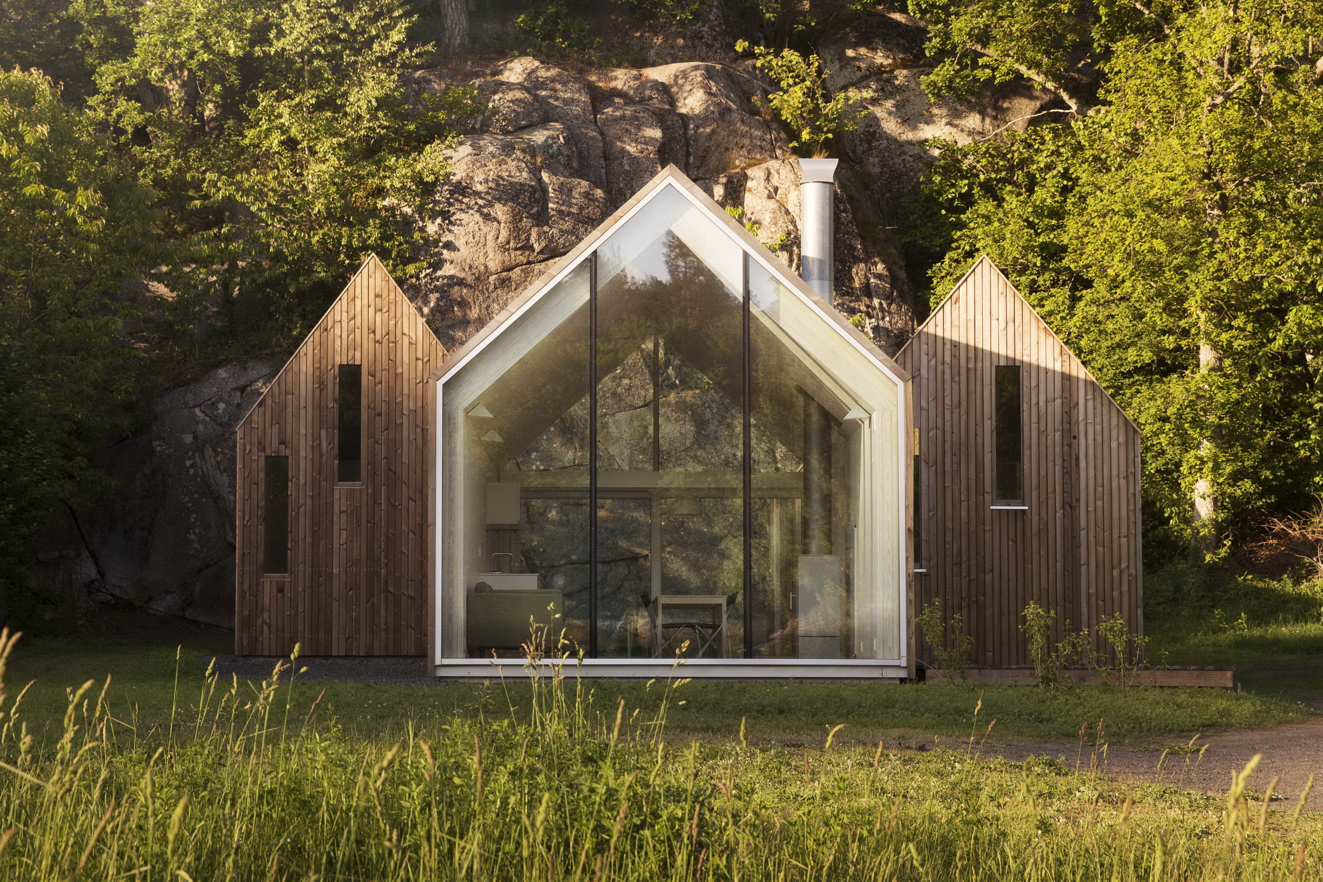 Micro Cluster Cabins by Reiulf Ramstad Arkitekter