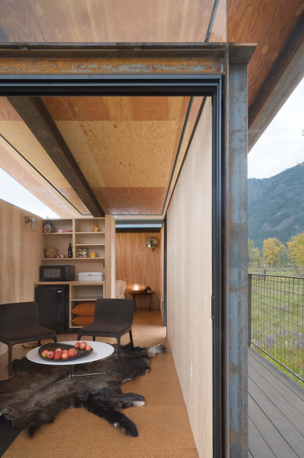 Rolling Huts by Olson Kundig