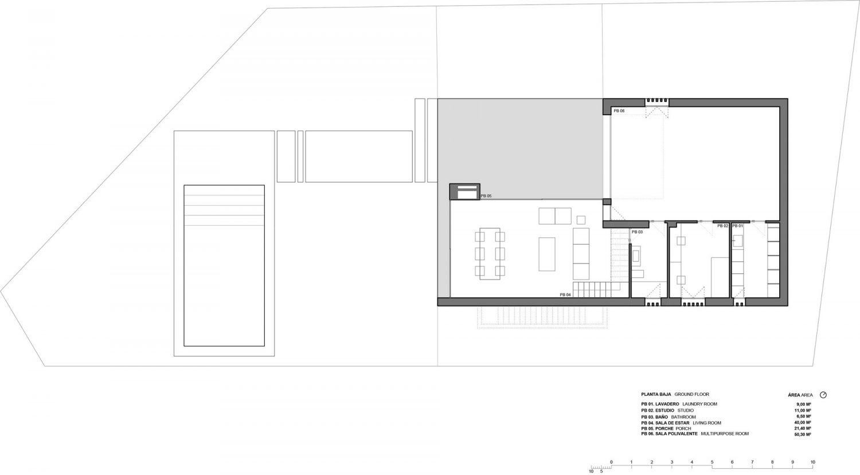 Bouganville House by Ruben Muedra Estudio de Arquitectura