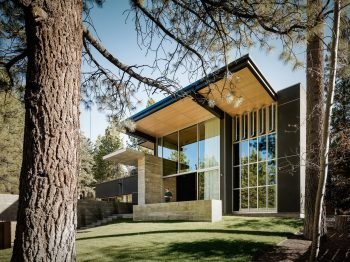 Burnt Cedar by Faulkner Architects