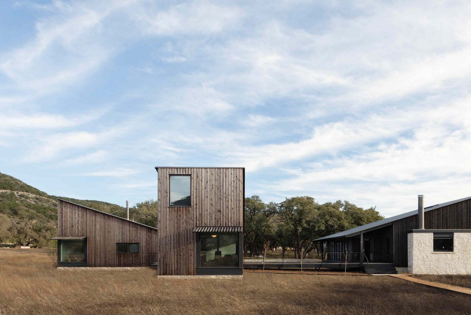 Camp Frio   Multi-Family Compound by Tim Cuppett Architects