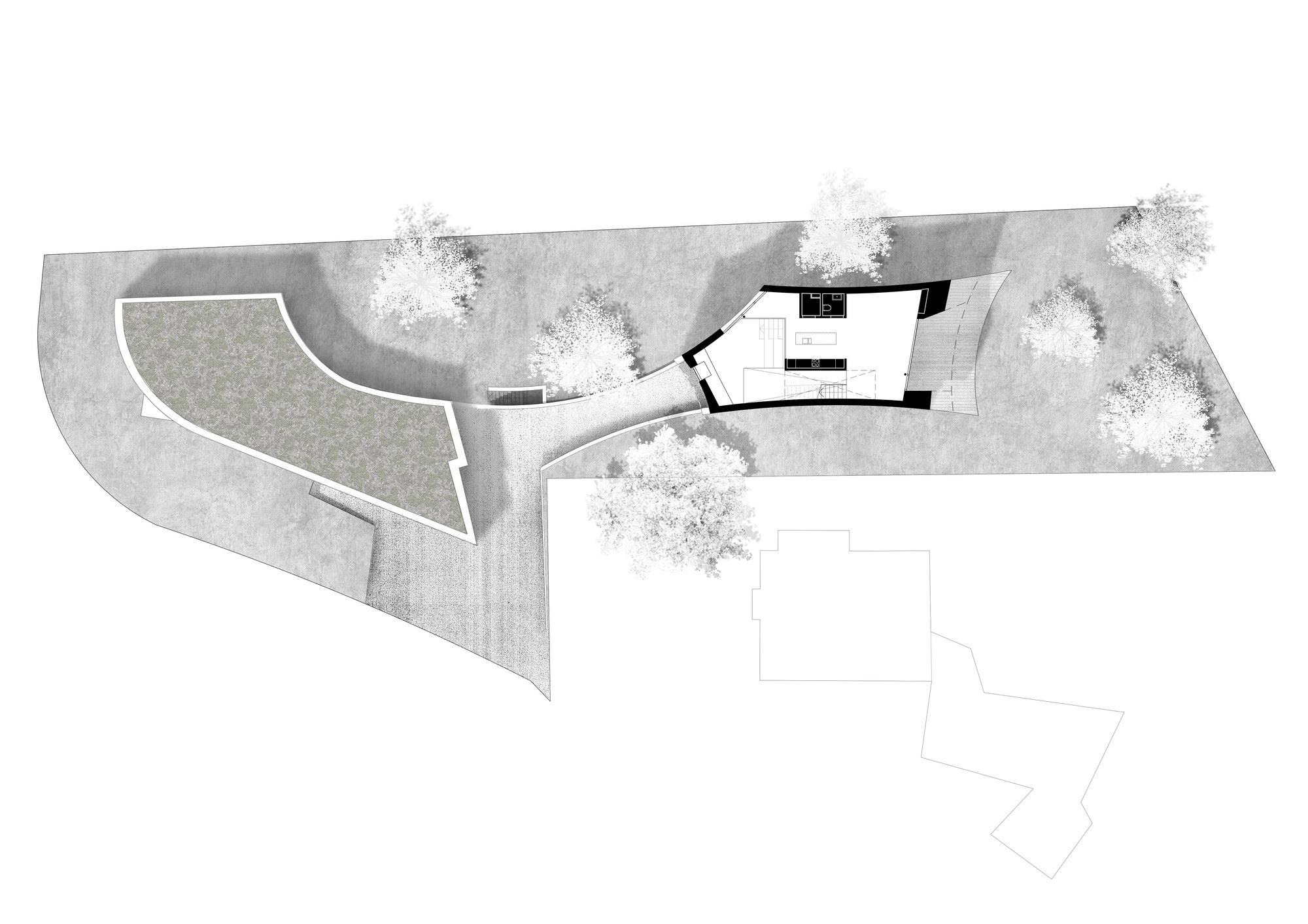 Casa Curved by Daluz Gonzalez Architekten