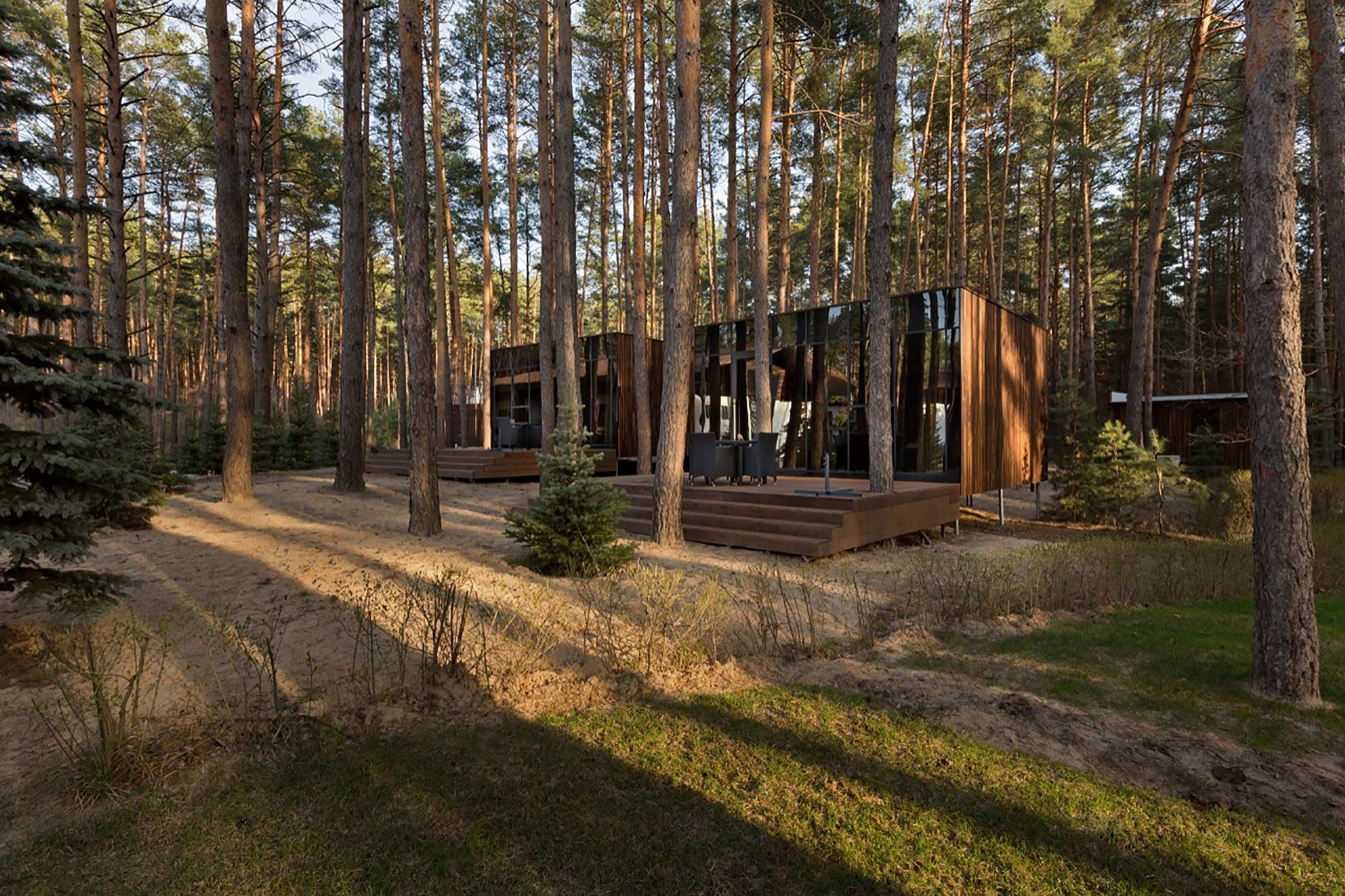 Guest Houses in Relax Park Verholy by YOD design lab