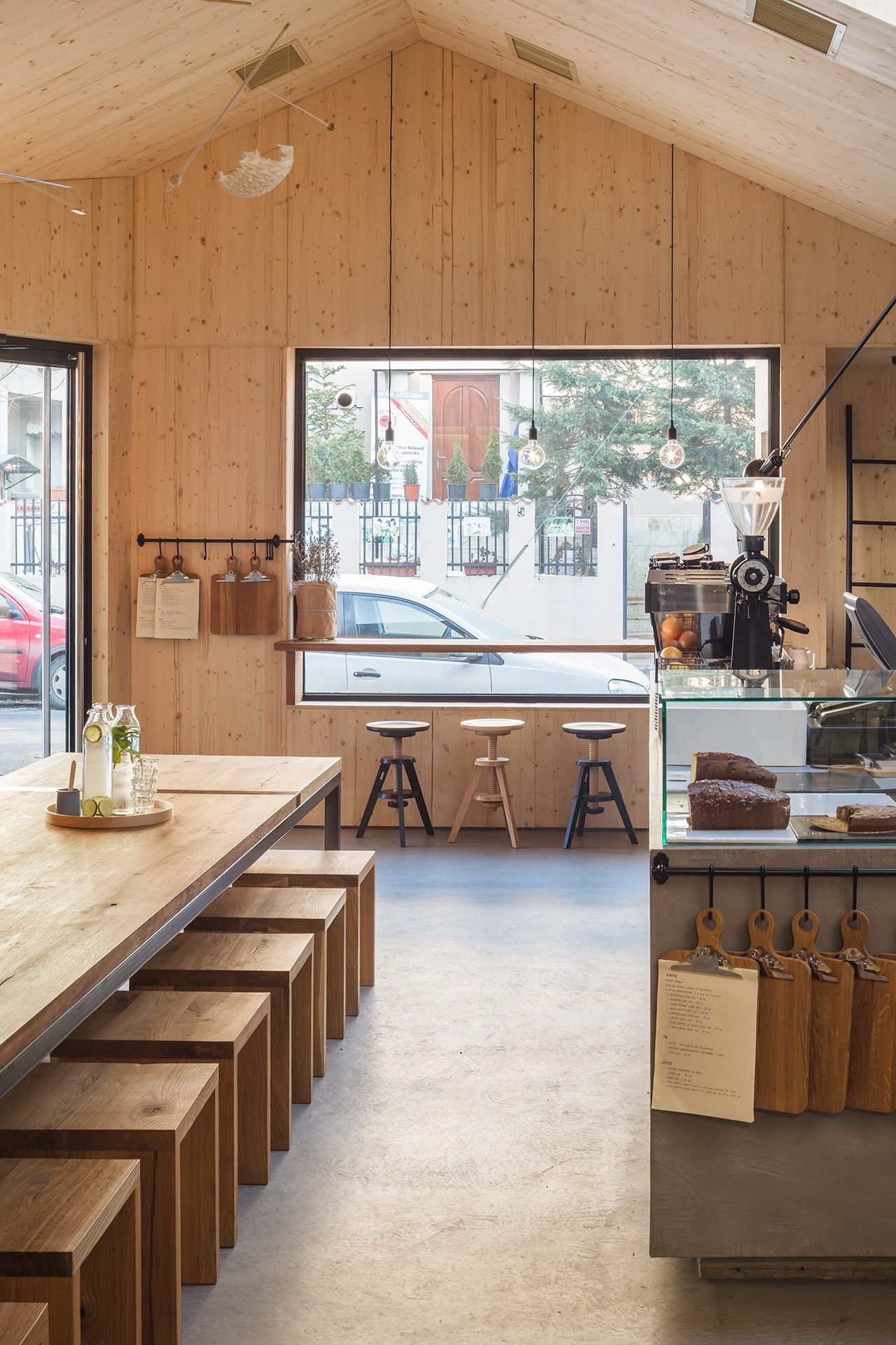 Juice Bar Cabin by Not a Number Architects