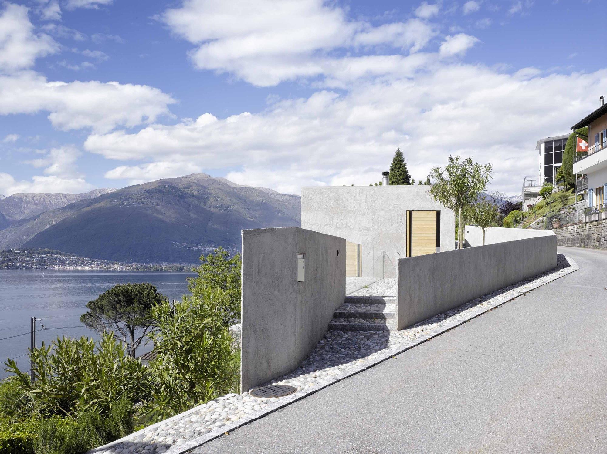 New House in Ranzo by Wespi de Meuron