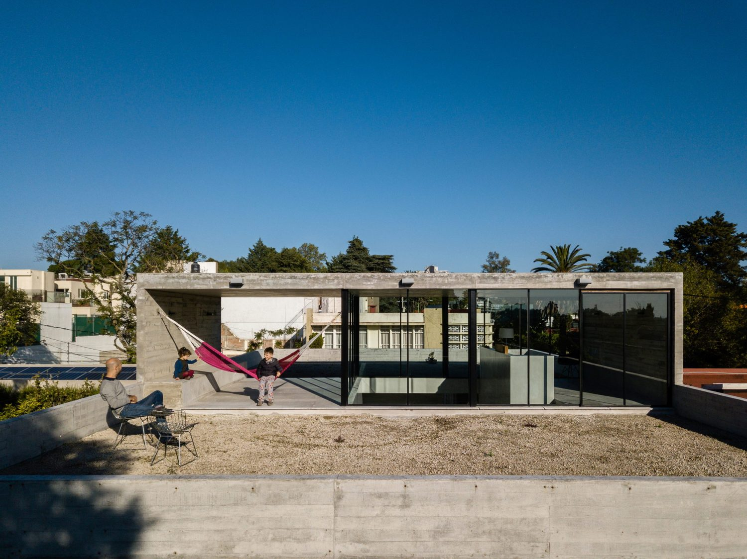Sierra Fria House by PPAA