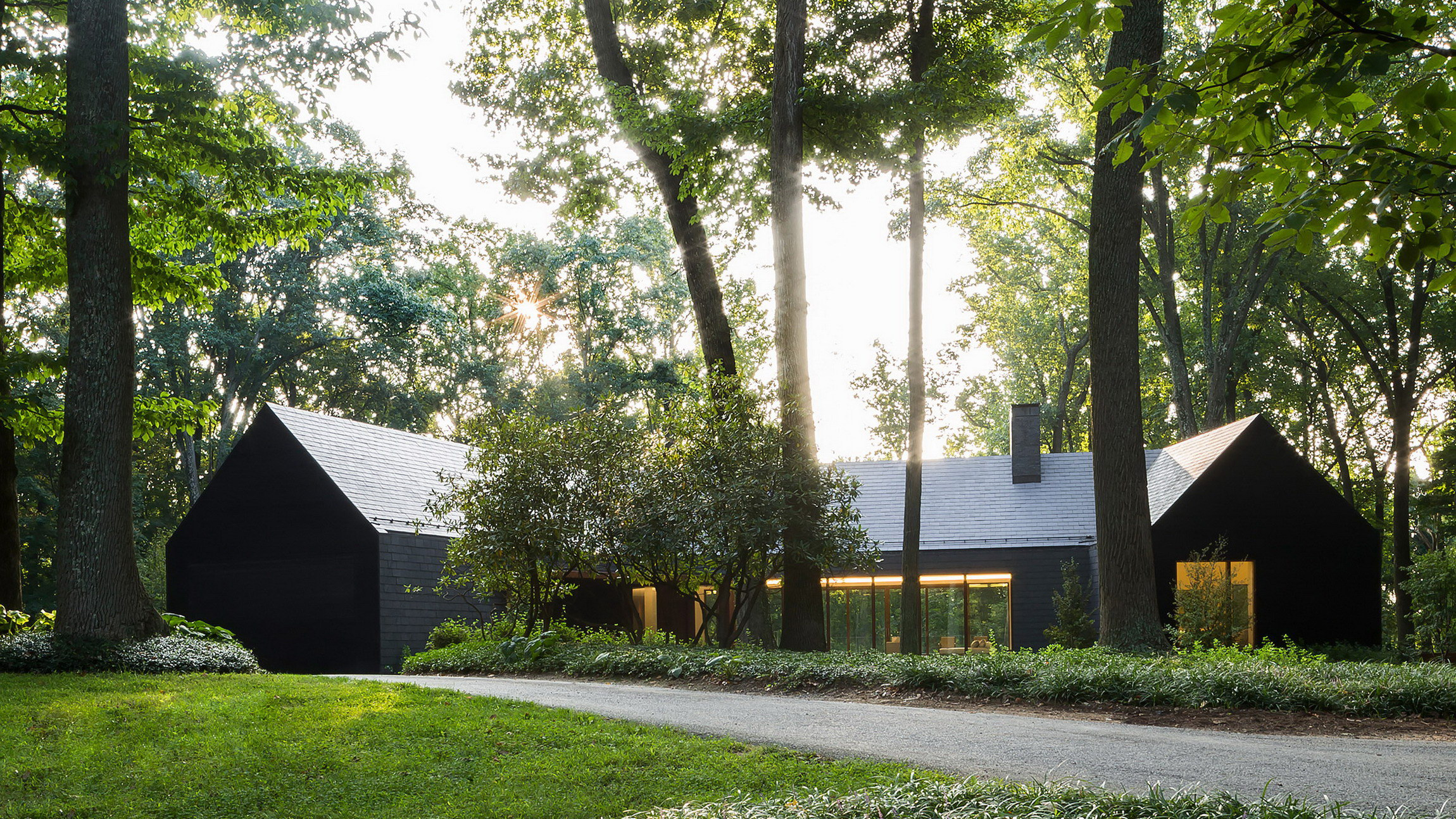 Slate House by Ziger Snead Architects