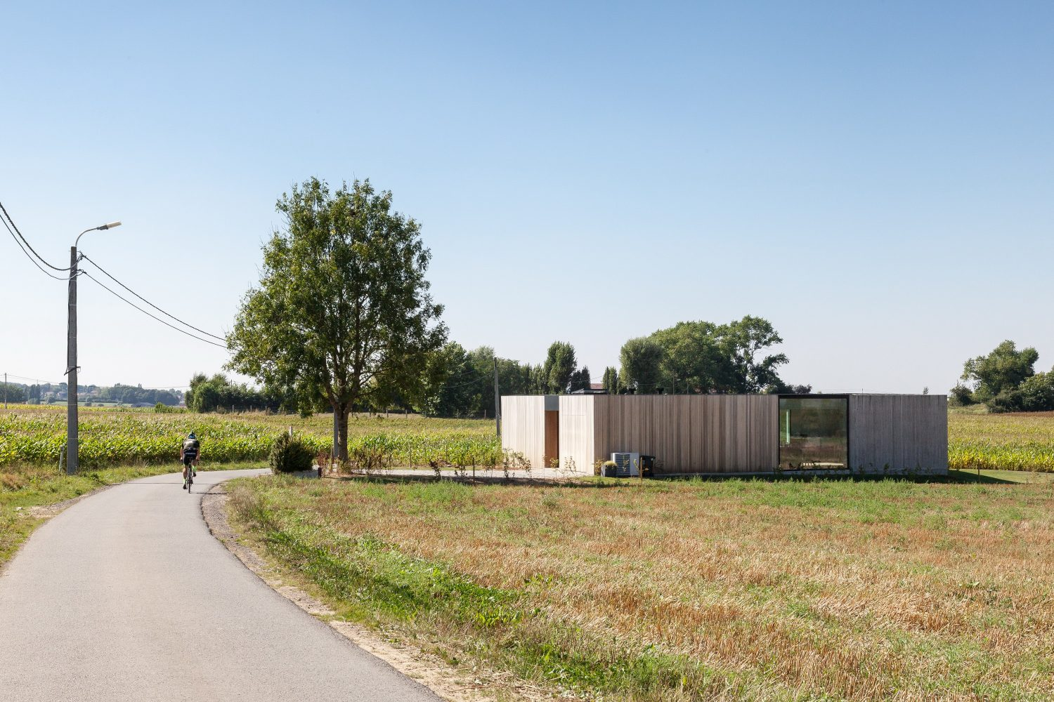 Caswes | Timber and Concrete House by TOOP architectuur