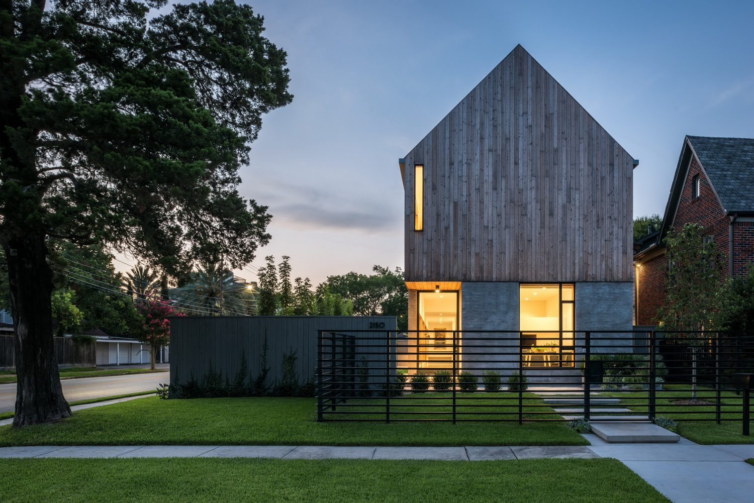 Family HQ | Gabled House by Michael Viviano