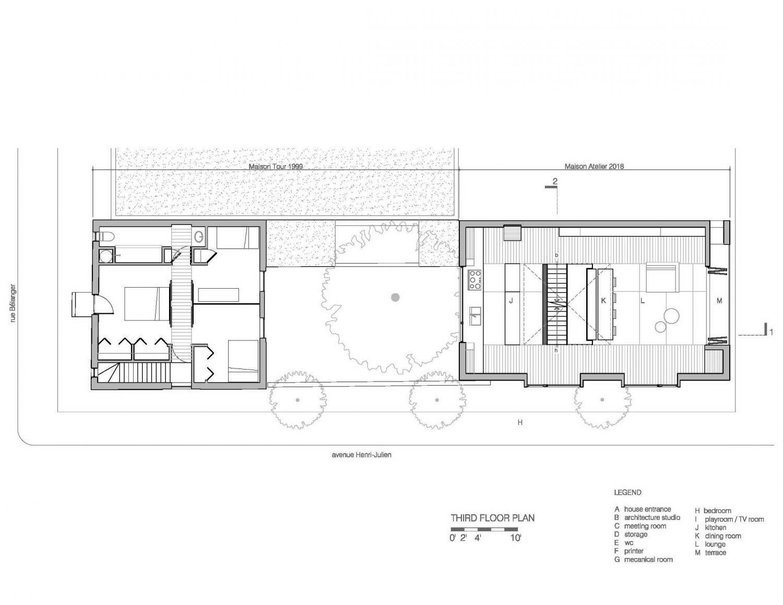Maison Atelier   House Studio by YH2