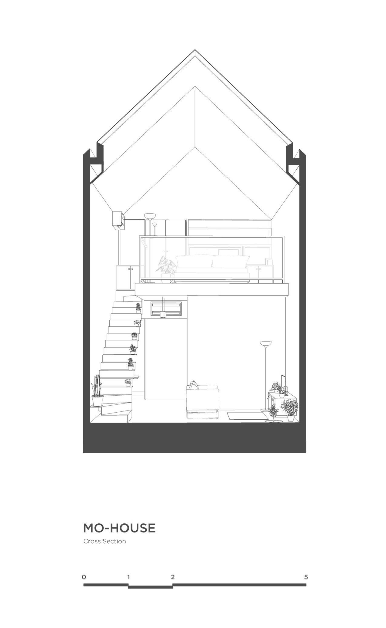 MO House | Minimalist Tiny House by DFORM