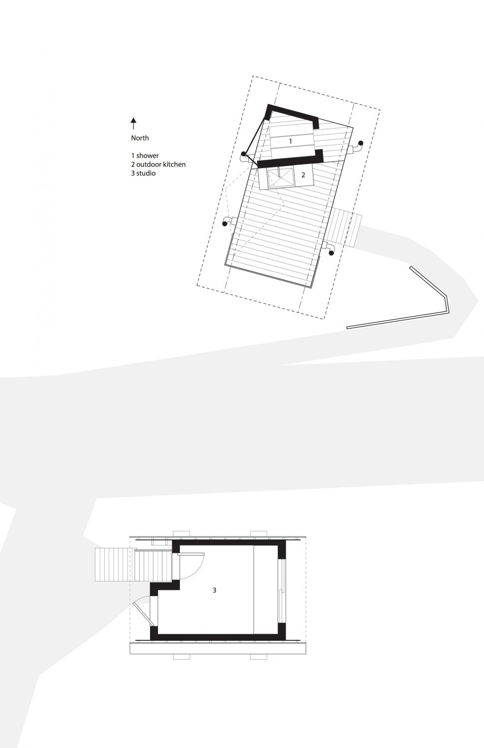 Outside House by FLOAT Architectural Research and Design