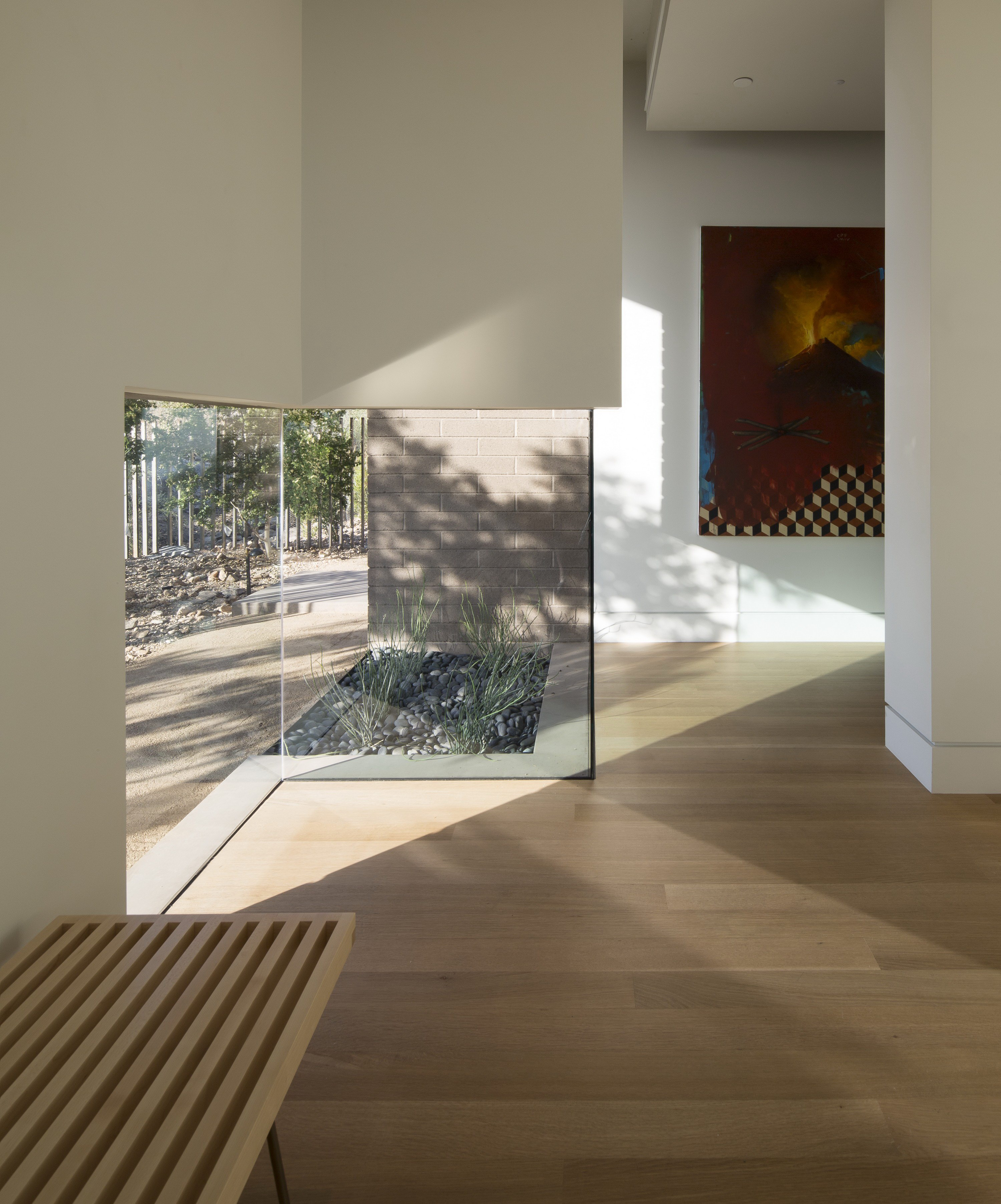 Rammed Earth Modern by Kendle Design Collaborative