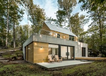 Spahaus | Cabin-Inspired Home by YH2