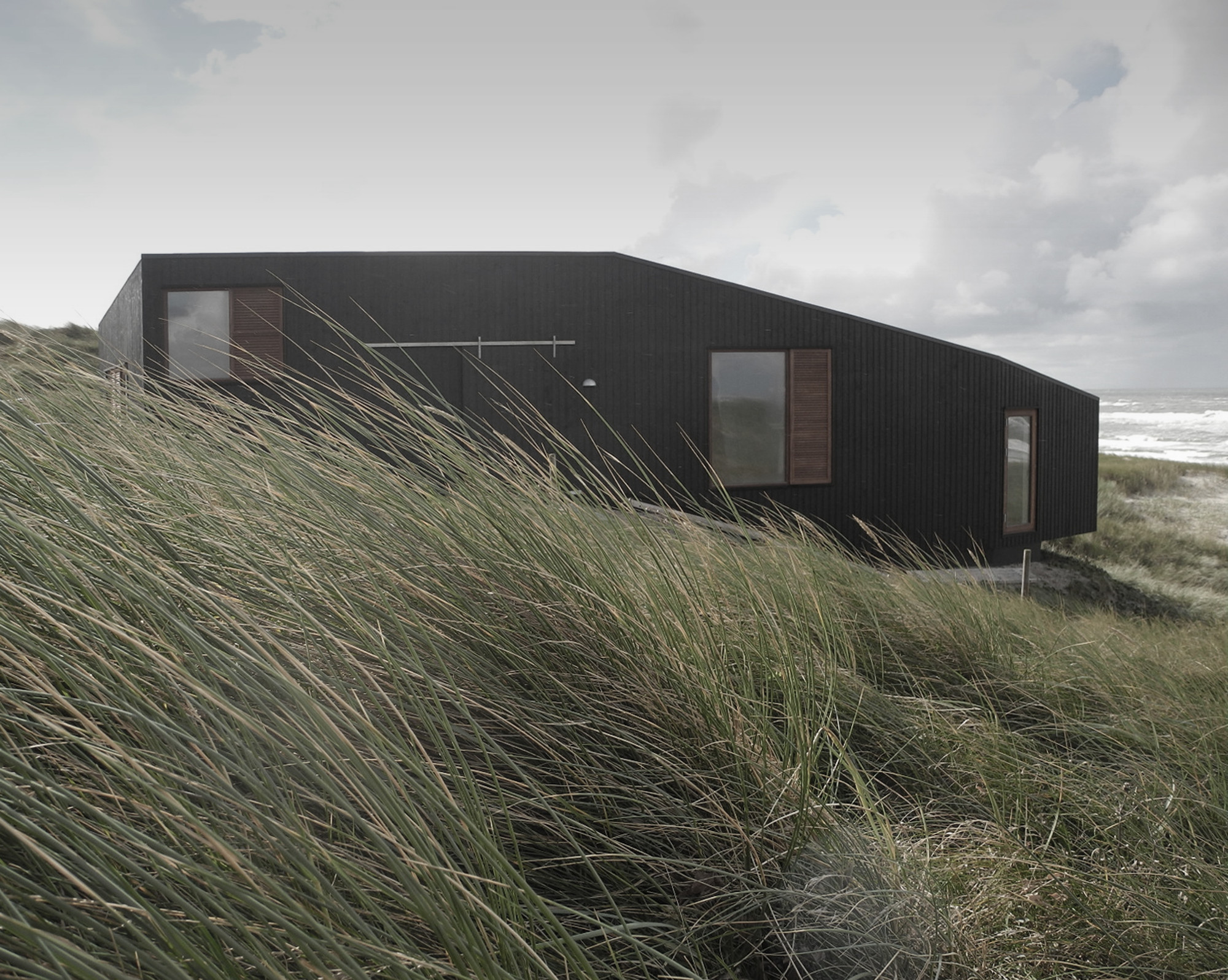 Vacation House in Henne by Mette Lange Architects