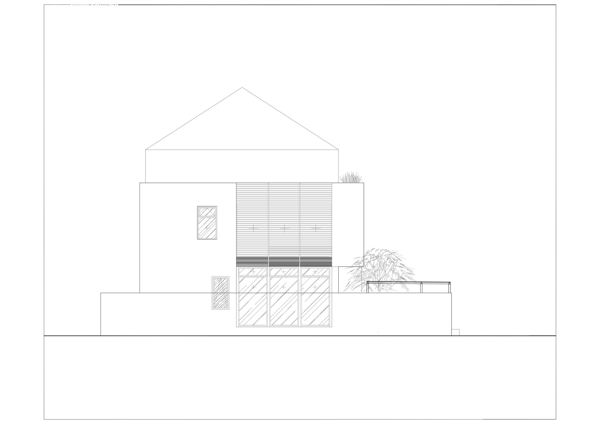 White Cube House   Minimalist Suburb House by MM++ architects